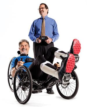 Cómo un paralítico se prepara para las primeras olimpiadas biónicas