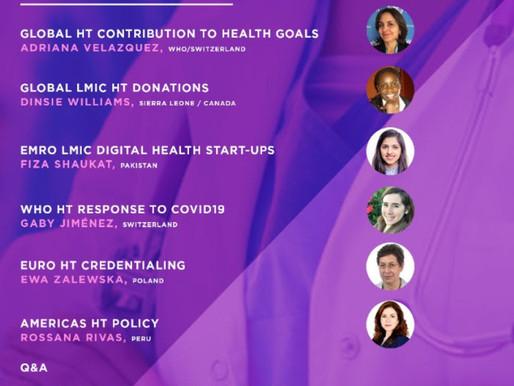 Webinar de IFMBE y WHO sobre el papel de las mujeres en la tecnología sanitaria