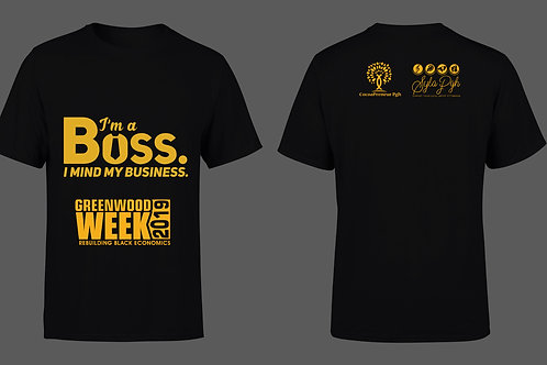 Greenwood Week T Shirt