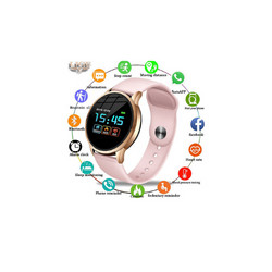 LIGE Pro Fitness Tracker Smart Watch / IP68 Waterproof For IOS & Android