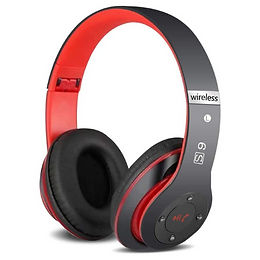 6S Wireless Headphones Over Ear,Hi-Fi Stereo Foldable Wireless Stereo Headsets