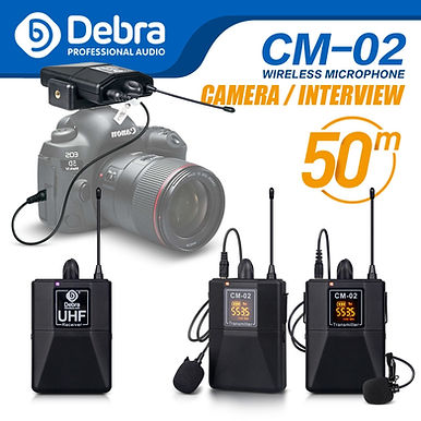 Debra Audio UHF Wireless Microphone