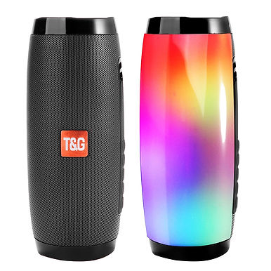 TG157 LED Flashing Bluetooth Portable Speakers Support FM /AUX/ USB /TF Card