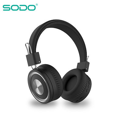 SODO SD-1002 On-Ear  Bluetooth Wired Wireless With Mic Support TF Card