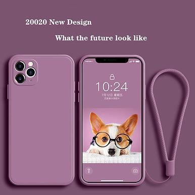 Liquid Silicone Case for iPhone 11 Pro Max 12  XS MAX XR X 7 8 6S PLUS