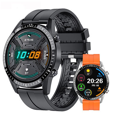 Run Speed I9 Heart Rate Monitor 1.3 inch Smart Watch With Multiple Sports Mode