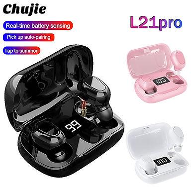 Chujie L21 Pro TWS Bluetooth Wireless Earphones