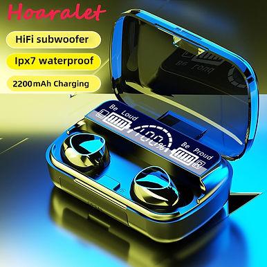Hoaralet Q1 TWS Wireless Bluetooth Earphones With Charging Box