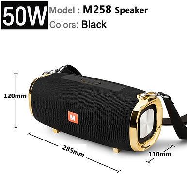M258 50w Wireless Bluetooth Speaker Subwoofer Stereo