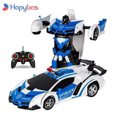 Hapybas RC Car Transformation Robots Toys