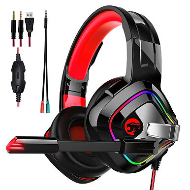 JOINRUN PS4 Gaming Headphones With Microphone 4D Stereo