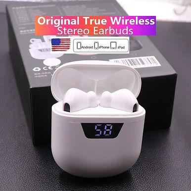 Listenvo P66 TWS Bluetooth Wireless Earphone With Microphone