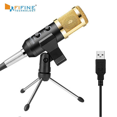 Fifine Plug & Play Desktop USB Microphones