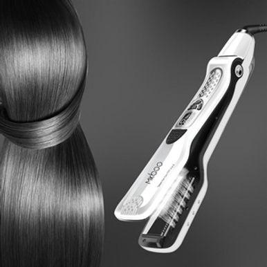 CkeyiN Steampod Professional Hair Straightener - LCD Display
