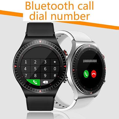 "Dreamnice 1.3"" Smart watch Bluetooth Call /ECG  4G Memory /IP68 Water resistant"
