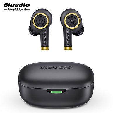 Bluedio Particle Wireless Bluetooth Earphones - Hi-Fi Sound & 24Hrs Playtime
