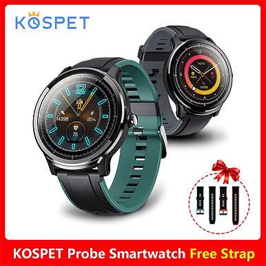 KOSPET PROBE IP68 Waterproof Smart Watch 24Hours Heart Rate