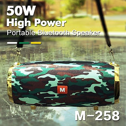 50W Wireless Bluetooth Subwoofer Speakers 3D Stereo