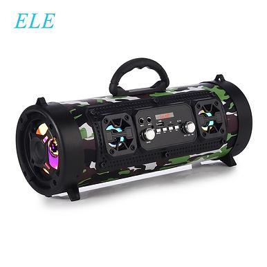 ELE ELEOPTION Portable Bluetooth Speaker Stereo Subwoofer