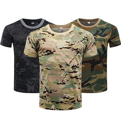 Men's Camouflage Short Sleeve T-Shirt