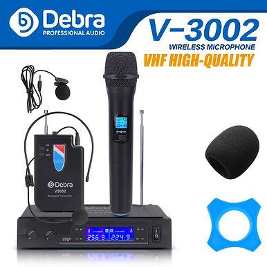 Debra Audio V3002 VHF Wireless Microphone