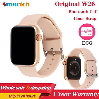 "Smartch W26 Pro Bluetooth Call 1.7""HD/ Smart Watch ECG/ Temperature Control"