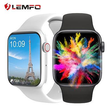 "LEMFO DT100 Smart Watch Bluetooth Call 1.75"" HD Full Screen - Health Tracker"