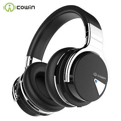 COWIN E7 Over Ear Wireless Bluetooth Headphones Active Noise Cancelling -30 Hrs