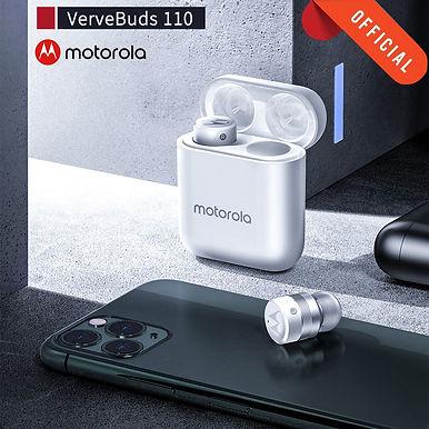 Motorola VB 110 Bluetooth 5.0 Mini-In-Ear Wireless Earbuds