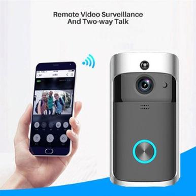 Smart Wireless Video Doorbell With Night Vison / Wi-Fi / Waterproof