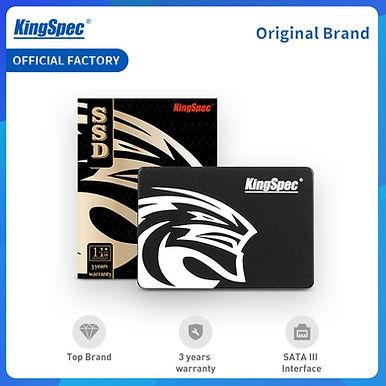 KingSpec SSD Hdd 2.5 SATA3 SSD 120gb/ 240 Gb /480gb / 1TB/ 2TB