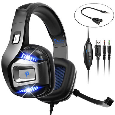 S1 Professional Wired Gaming Headphone With 3D Led Light