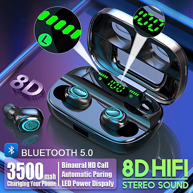 S11 TWS Bluetooth Wireless Earbuds Noise Cancelling