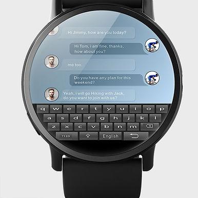 "LEMFO LEM7-X Bluetooth 2.3""Display Smart Watch/ GPS-WIFI- 16GB Android"