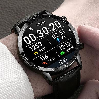 "Timewolf Pro Bluetooth Call Smartwatch 1.3"" TFT Smart Watch ECG Health Tracker"