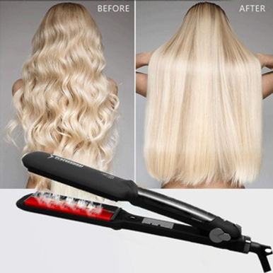 Aister Professional SteamPod Hair Straightener / LED Display / Fast Heating