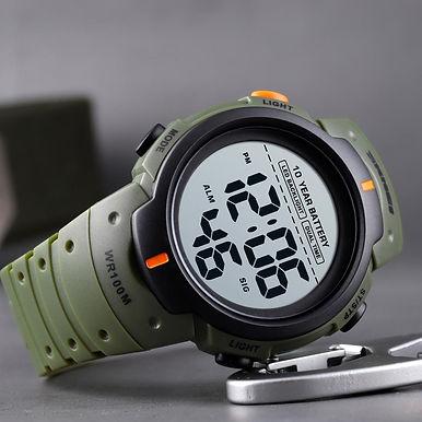 SKMEI 1560 LED Display Digital Sport Watch 100M Waterproof