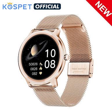 "KOSPET R18 Blood Pressure Monitor 1.1"" HD Bluetooth Smart Watch"