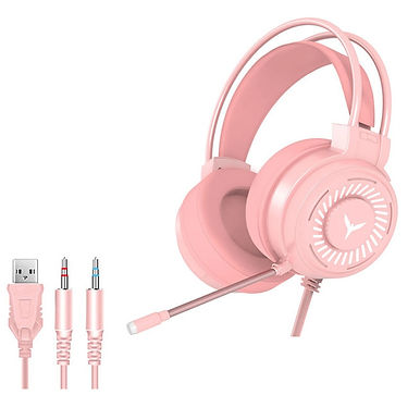 Centechia Gaming Wired USB Headphones With Microphone