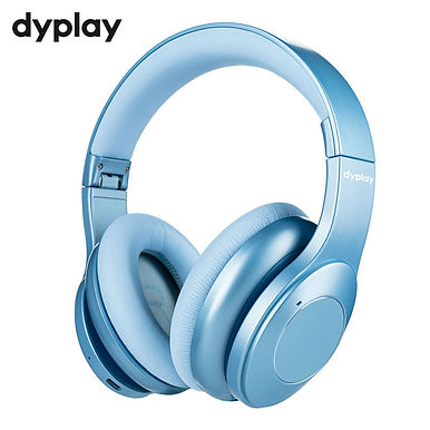 Dyplay Hybrid Wireless Bluetooth 5.0 Headphone Active Noise Cancelling