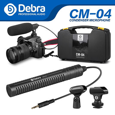 Debra CM-04 Pro Audio Recording Microphone