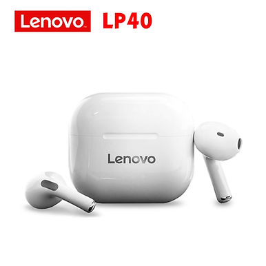 Lenovo LP40 Active Noise Cancellation Wireless Bluetooth in-ear Earphones