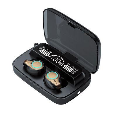 M18 TWS Wireless Bluetooth Earphones 9D Stereo Bass Sound - Long Life Battery