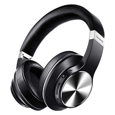 Vankyo C751 Over Ear Wireless Bluetooth headphones Hybrid Active Noise Cancellin