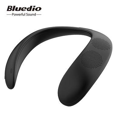 Bluedio HS Bluetooth Neck-Mounted Wireless Speaker Support SD Card Slot / FM