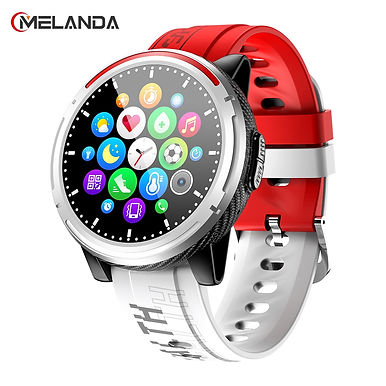"Melanda MF Bluetooth Call 1.3"" HD Screen Smartwatch Health Tracker Multi Sports"