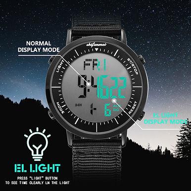 Digital Multifunction Sport Watch