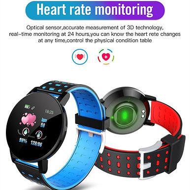 Rovtop 1.3inch Heart Rate Tracker Bracelet Smart Watch - Bluetooth Call