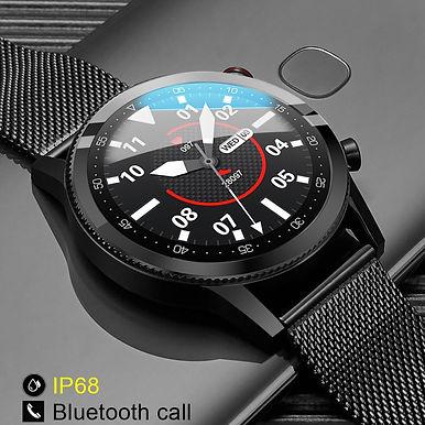 "Pretty Little L-19 Bluetooth Call 1.3""Touch Screen Fitness Tracker Smart Watch"