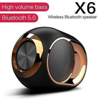 TWS X6 Bluetooth Portable Loudspeaker